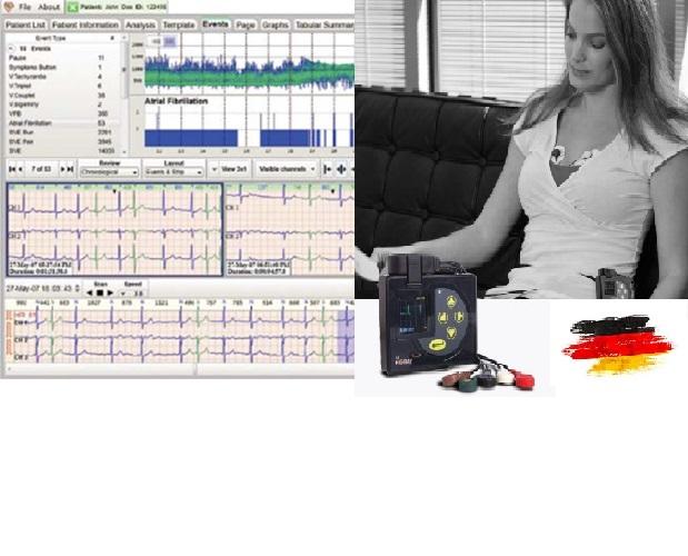 هولتر ECG ریتم NORAV آمریکا